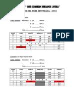 Horarios Del Nivel Secundaria 2015 Jsbl Ccesa