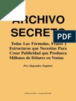 Archivo Secreto Pagliari