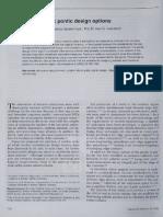 A Review Ot Esthetic Pontic Design Options