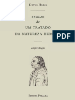 Um Tratado Da Natureza Humana - David Hume