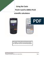 User Guide Fx100au Plus