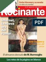 Revista Rocinante 11.