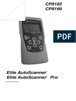 User CP9185 AutoScanner
