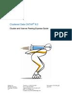 Clustered Data ONTAP 82 Cluster and Vserver