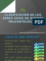 Clasificación de Los Seres Vivos de Interés Paleontológico