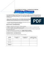 Guía de Consulta Sistemas de Control y Coordinacion Corporal