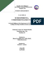 56796742 Schizophrenia NCMH Case Study