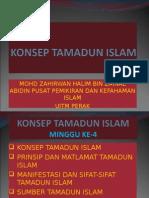 Konsep Tamadun Islam
