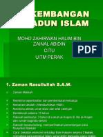 Perkembangan Tamadun Islam