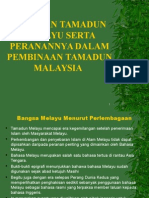Tamadun Melayu Sebagai Asas Tamadun Islam