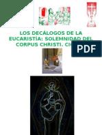 Corpus Christi. Decálogos