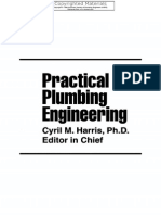 Practical Plumbing Engineering, Cyril Harris