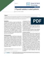 Management of Thyroid Nodules