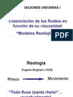 Clase Reología