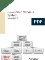 Autonomic Nervous System - Updated