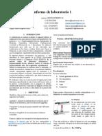 Informe de Laboratorio 1 Fisica General
