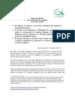 Cdhvd Boletín de Prensa 8 de Marzo 2015 Final