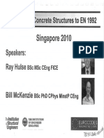 Design of Concrete Structures to EN1992_S'Pore2010