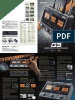 Zoom G3 Brochure