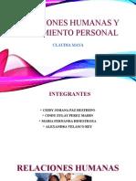 Relaciones Humanas y Crecimiento Personal