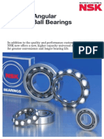 New 40 Angular Contact Ball Bearings