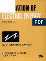 utilization of electric energy by taylor
