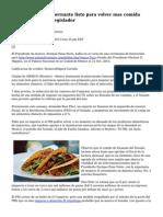 Mexico partido gobernante listo para volver mas comida basura impuesto