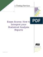 Interpreting Statistical Information