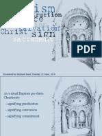 christianity - baptism
