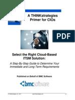 THINKstrategies BMC SelectTheRighCloudBasedITSMSolution