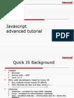 Javascript advanced tutorial