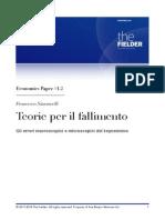Teorie per il Default - Gli errori macroscopici e microscopici del keynesismo