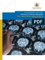 Advanced Training in Neurology Adult 2014