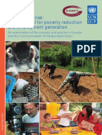 Social Enterprise - A New Model for P1overty Reduction and Employment Generation