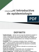 1. Notiuni de Baza Epidemiologie