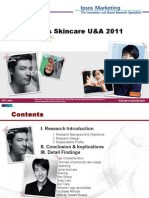 Ipsos - KOREA Men's Skincare Attitude & Usage Report 2011