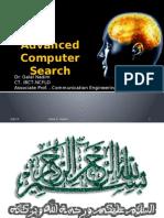Advanced Computer Search