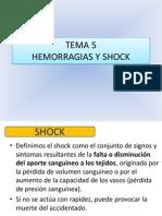 Tema 5 Hemorragias y Shock