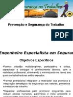 Prevenção e Segurança Do Trabalho