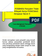 Penyuluhan Posbindu Stroke