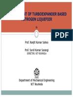 07 Development of Turbo-expander Based Liquid Nitrogen Plant --Ranjit Kumar Sahoo