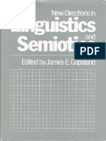 (Current Issues in Linguistic Theory 32) James E. Copeland-New Directions in Linguistics and Semiotics-Rice University Studies (1984)
