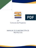 Manual Elaboracion de Proyectos