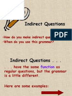 Indirect Questions 2