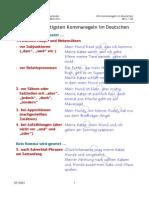 Die Fünf Wichtigsten Kommaregeln Im Deutschen