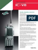 IC V8 Brochure