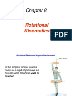 8 Rotational Kinematics