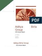 CSR-Aditya Birla Group