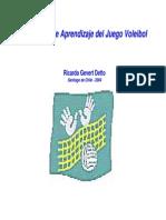 Tp Voleibol 2014 Modelo de Aprendizaje Del Juego Voleibol