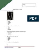 50 Contoh Soal Bahasa Inggris Kelas 4 Sd Inggris Online
